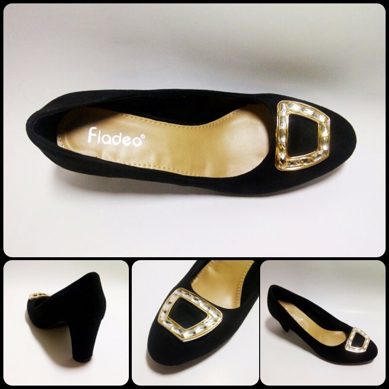 CUCI GUDANG. ORIGINAL. REAL PIC. HIGH HEELS. FLADEO. Kode 944.