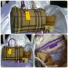 TAS BURBERRY SPEEDY LIST UNGU