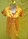 pakaian Blouse Flower Yellow fit to L