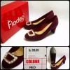limited edition. warna WINE. CUCI GUDANG. ORI. REAL PIC. HIGH HEELS. FLADEO. Kode 946.