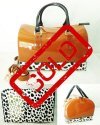 BIG SALE-TAS FURLA DALMATION COKLAT-SEMI ORIGINAL
